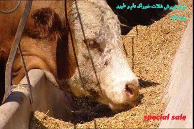 کارخانه آرد دامی صادراتی